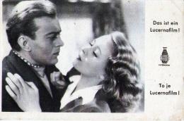 Publicité : Cinéma - Lucernafilm (1943) - Publicité