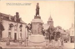 CPA -22 - CORLAY - Le Monument Aux Morts De La Grande Guerre 1914-1918 - Andere Gemeenten
