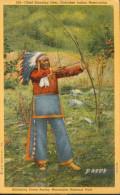 Chief Standing Deer, Cherokee Indian Reservation - Etats-Unis
