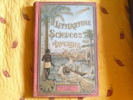 """Littérature - Sciences Et Voyages - """" A LA RECHERCHE D´UN BUFFALO BLANC"""" Par Mayne REID, 1893 - Livres, BD, Revues"""
