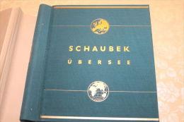 (497) schweres Schaubek Nostalgie Album von 1941 -�BERSEE  Teil 1 mit einigem Inhalt  !