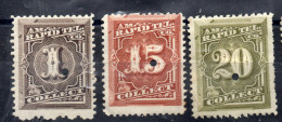 N°60-62-63 - NEUFS - Telegraph Stamps