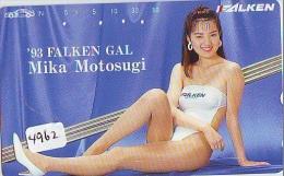 Télécarte Japon EROTIQUE (4962) EROTIC *  * JAPAN ACTRESS * PHONECARD EROTIK * BIKINI GIRL * FEMME SEXY LADY - Moda