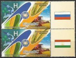 BY 2013 EURAZES, BELORUSSIA, 1 X 2v, MNH - Belarus