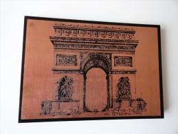 VINTAGE: SCÉNOGRAPHIE ARC DE TRIOMPHE PARIS ( EN CUIVRE ) - Arc De Triomphe