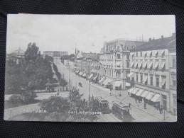 AK CHRISTIANIA Strassenbahn 1906  //  D*13267 - Norwegen