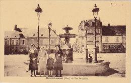 18 - Henrichemont - Rue Dauphine (fontaine, Animée) - Henrichemont