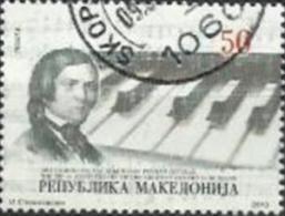 MK 2010-552 SCHUMAN, MACEDONIA, 1 X 1v, Oo - Muziek