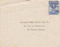GOLDKÜSTE 1947 - 3 D Frankierung Auf Brief Von Gold Coast > Paris - Goldküste (...-1957)