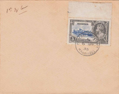 MAURITIUS 1935 - 5 Cents Mit Oberen Rand - Mauritius (...-1967)