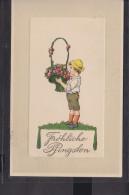 Prägepostkarte Fröhliche Pfingsten - Pfingsten