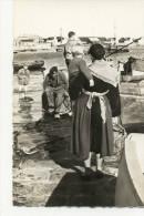 LES SABLES D´OLONNE. - Le Départ Pour La Pêche. Cpsm 9x14    Cliché RARE - Sables D'Olonne