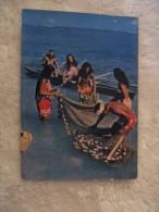 Oceania - Polinesia Francese - Tahiti 1962 - Pescatori - Tahiti