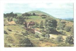 Malvern The British Camp Malvern Hills Vintage Postcard Worcestershire -  Unused - Worcestershire