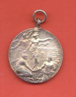 Buenos Aires  Per Il Cinquantesimo Del Regno D´Italia 1911 - Médailles & Décorations