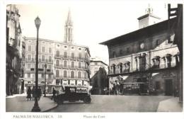 POSTAL   28.-  PALMA DE MALLORCA  - BALEARES -   PLAZA DE CORT - Palma De Mallorca