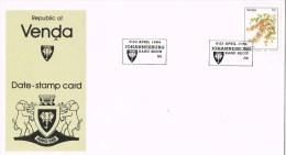 9771. Tarjeta JOHANNESBURG (Venda)  1984. Rand Show - Venda