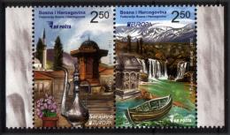 Bosnia And Herzegovina 2012 Europa CEPT, Visit, Set MNH - 2012