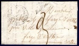 Sarthe: Cursive 71/BALLON Sur LAC De 1842 - 1801-1848: Voorlopers XIX