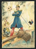 Illustrateur JEAN PARIS - J´Y SUIS, J´Y RESTE - Histoire