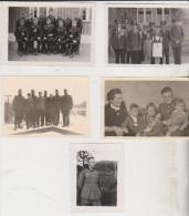 Militaria Lot De 5 Photos Allemagne Militaire WW2 Guerre 1939 1945 - Guerre, Militaire
