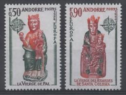 ANDORRE - YT N° 237-238 - Neuf ** - MNH - Cote: 55,00 € - Europa 1974 - Neufs