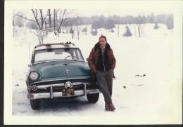 "Alter Oldtimer  ""Ford ""  1959   In Sehr Guter Erhaltung!   12,7 X 8,9 Cm - Automobiles"