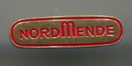 NORDMENDE - Electronics Brand, Technicolor SA, Bremen, Germany, Pin, Badge - Merken