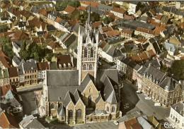 """CP De ENGHIEN """" Centre-ville - Vue Aérienne """" . - Enghien - Edingen"""