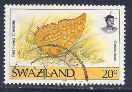 Swaziland, Scott # 603 Used Butterfly, 1992 - Swaziland (1968-...)