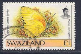 Swaziland, Scott # 611 Used Butterfly, 1992 - Swaziland (1968-...)