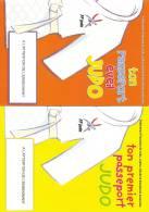 Livret Passeport FF JUDO 16 Pages De Jeux Et D´éveil - Arti Martiali