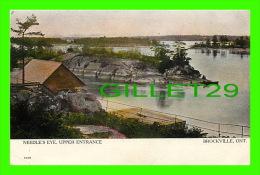BROCKVILLE, ONTARIO -  NEEDLE'S EYE, UPPER ENTRANCE - TRAVEL IN 1907 - WARWICK BRO'S & RUTTER - - Brockville