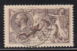 Great Britain Used Scott #173 2sh6p ´Britannia Rule The Waves´ - Seahorses - 1902-1951 (Rois)