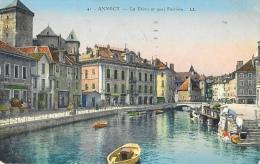 Annecy - Le Thion Et Quai Perrière - Carte LL N°41 - Annecy
