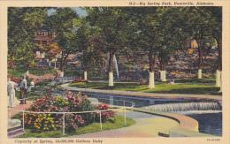 Alabama Huntsville Big Spring Park Curteich - Huntsville