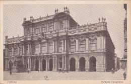 Cartolina TORINO - Palazzo Carignano - Palazzo Carignano