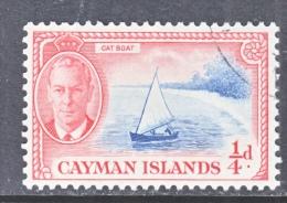 CAYMAN ISLANDS  122   (o)  CAT  BOAT - Cayman Islands