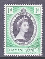 CAYMAN ISLANDS  150  (o)   CORONATION - Cayman Islands