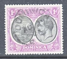 DOMINICA  66  (o)   Wmk. 4 - Dominica (...-1978)