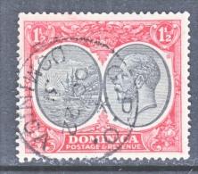 DOMINICA  68  (o)   Wmk. 4 - Dominica (...-1978)