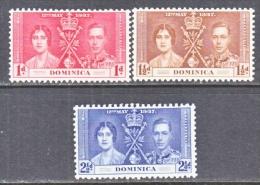 DOMINICA  94-6  *   CORONATION - Dominica (...-1978)