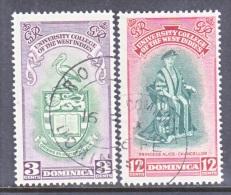 DOMINICA  120-21   (o)   UNIVERSITY - Dominica (...-1978)