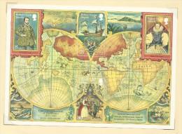 British Virgin Islands 1980 Drake 400th Anniversary Of Circumnavigation Of The World Souvenir Sheet - British Virgin Islands