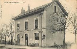 79 PAMPROUX La Gare CPA Ed. Mmes Fayet-Chaigneau - France
