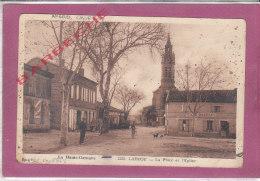 31.- LABEGE .- Place Et Eglise - Other Municipalities