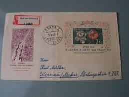 == Ex CSR Sammlung   Briefe Oder FDC   Bl. 19  Weltraum Space  € 10,00 - Covers & Documents