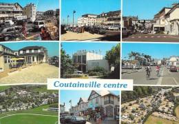 50 RARE COUTAINVILLE CENTRE / MULTIVUES / COMMERCES / POSTE / CAMPINGS / OFFICE DU TOURISME ET CASINO - France