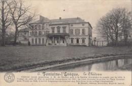 CPA FONTAINE L'EVEQUE- THE CASTLE - Fontaine-l'Evêque