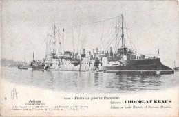 POTHUAU CROISEUR CUIRASSE / FLOTTE DE GUERRE FRANCAISE / CHOCOLAT KLAUS - Guerra